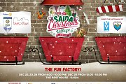Saida Christmas Village 2016  The Fun Factory