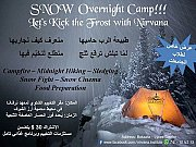 Snow overnight camp