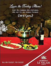 Celebrate Christmas At Auberge Le Valais