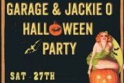 Garage & Jackie O Halloween Party