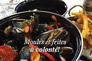 Moules et Frites at Les Malins