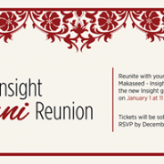 2nd Insight Alumni Reunion
