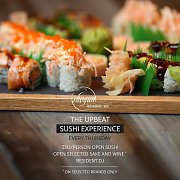 Open Sushi Every Thursday
