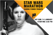 Star Wars Marathon | Carrie Fisher Tribute
