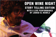 Open Wine | Storytelling & Live Performance at Aleph B