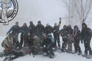 Snowshoeing in Laqlouq