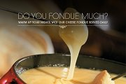 Cheese Fondue Nights at Trumpet