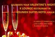 Valentine's night at Jounieh Suites Hotel