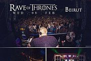 Raves of Thrones Beirut AKA HODOR from Games of Thrones