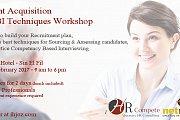 Talent Acquisition & CBI Techniques Workshop