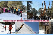 SnowShoeing From The Cedars Of God To Bekaa Kafra With WALK LEB
