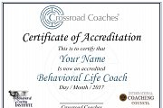 Accredited Behavioral Life Coaching Certification