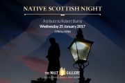 Robert Burns Night at The Malt Gallery
