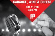 Karaoke, Wine & Cheese | Valentine's Special