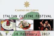 Italian Cuisine Festival at Casino Du Liban
