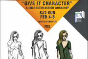 Give it character, a character design workshop