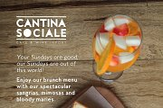 Boozy Brunch at Cantina Sociale
