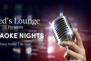 Karaoke Fridays at Fred's Lounge