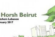 Sketch Horsh Beirut with Urban Sketchers Lebanon
