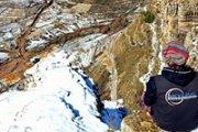 Via Ferratta in Snow (hard level)