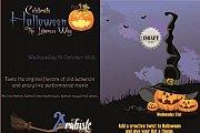 Halloween at Draft & Arabiste