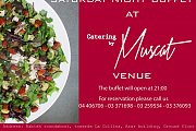 Saturday night at Catering By Muscat Venue