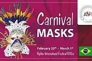Carnival Masks by Byblos International Festival offices