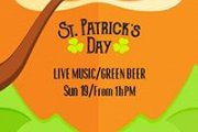 St Patrick's Day at Colonel Beer