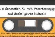 Generation K7 90's Partaaayyy - 90's Night at Eden