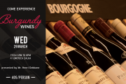 Burgundy Wines Tasting Course