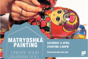 Matryoshka Painting | Create Your Russian Doll (set of 5)