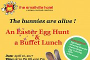 Easter egg hunt at The Smallville Hotel