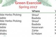 Green Exercise with the Nature Conservation Center at AUB