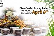 Garden river Sunday buffet