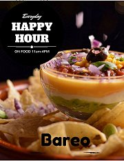 Happy Hour on Food & Drinks at Bareo Badaro!
