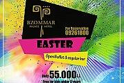 Easter Sunday Buffet at Bzommar Palace