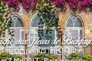 Marché aux fleurs de Bickfaya