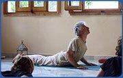 Yoga class at Beit El Nessim every Thursday