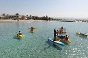 Sea kayaking in sour