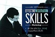 Effective Negotiation Skills Workshop at LAU