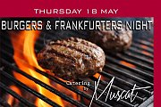 Burger night at catering by Muscat