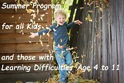 Summer Program 4 Kids & Those With Learning Difficulties