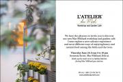 L'Atelier du Miel opening of Garden Cafe