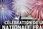 Célébration de la fête nationale française