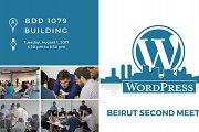 For Developers: WordPress Beirut 2nd Meetup - August