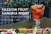 Passion Fruit Sangria Night