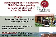 Wine Trip with Club Grappe