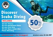 Discover Scuba with Narcosis Diving Facility
