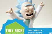 Tiny Rick!! Clay Modeling Workshop