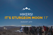 Hikers! It's Sturgeon Moon 17'